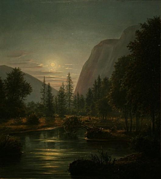 Hetch Hetchy Valley Before Reservoir Submersion, Yosemite, California