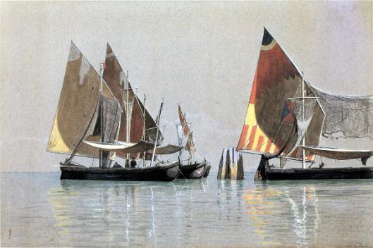 Italian Boats, Venice