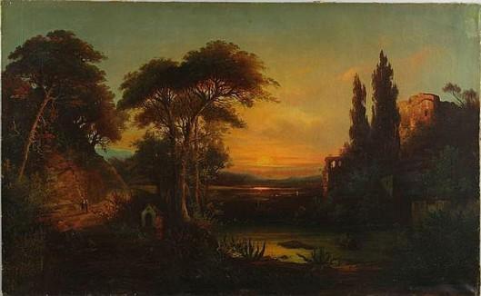 Italian Romantic Landscape