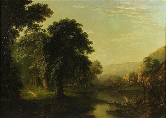 Landscape Near Harpers Ferry, Virginia