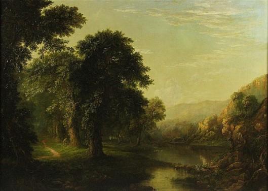 Landscape Near Harpers Ferry, Virginia