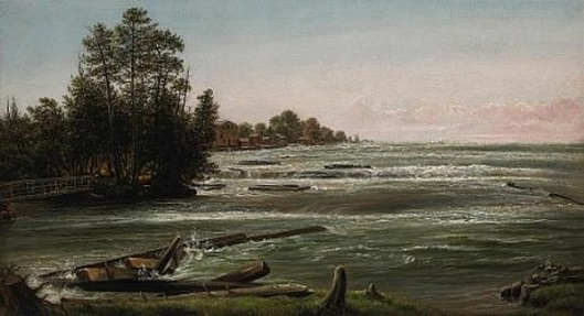Rapids On Niagara River