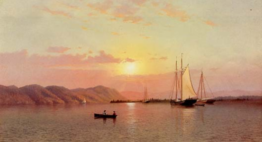 Sunrise At Tappan Zee