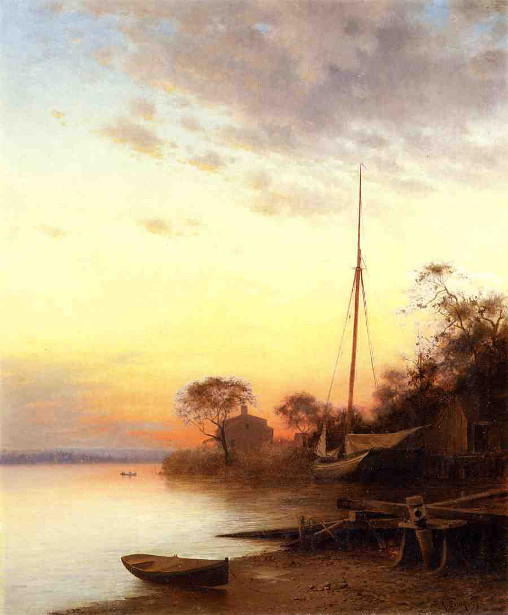 Twilight Along The River