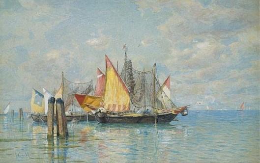 Venetian Sailboats