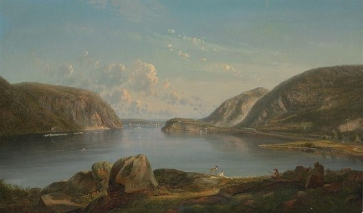 View Of The Narrows, Hudson River, New York