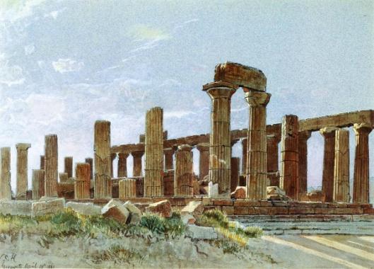 Agrigento - Temple Of Juno Lacinia