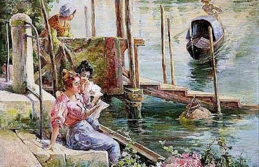 Reading The Letter, Venice