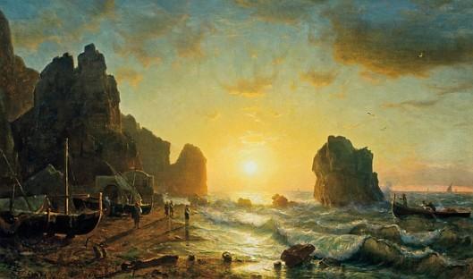 Sunset, Capri