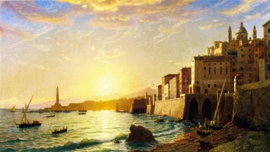 The Harbor Of Genoa