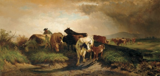 The Herd Returning Home