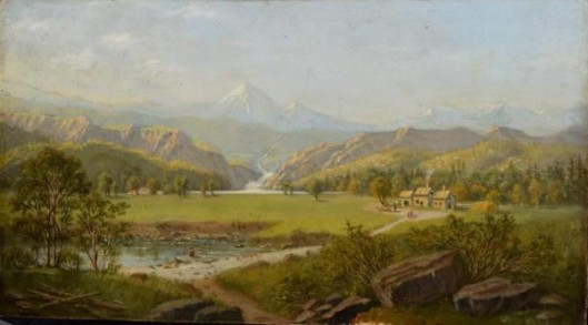 View Of Oregon
