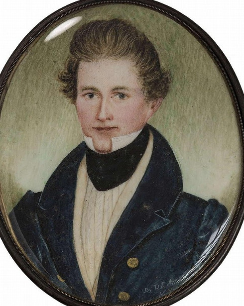 Young Gentleman In Blue Coat