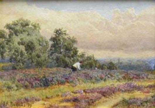 Artist Tending His Garden
