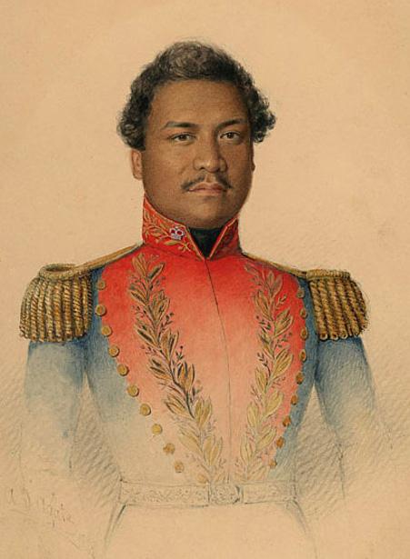 King Kamehameha III of Hawaii