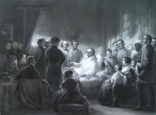 Last Days Of Daniel Webster