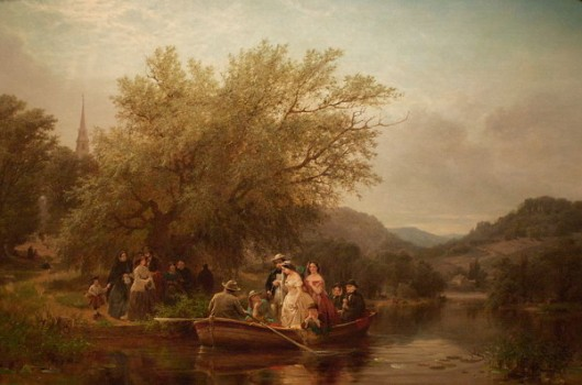 Life's Day or Three Times Across The River. Noon - The Wedding Party