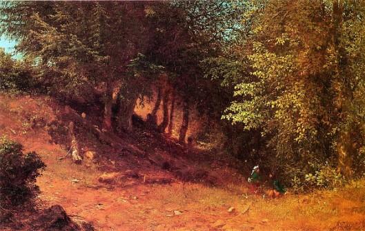 Picnic In A Summer Landscape