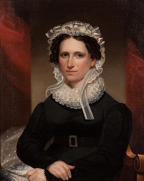 Portrait Of A Woman From NY State