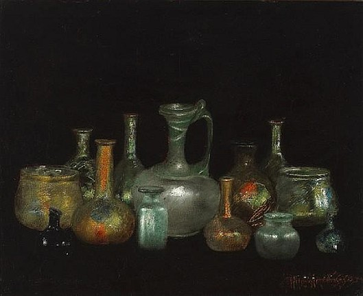 Still Life With Cyprus Glasses