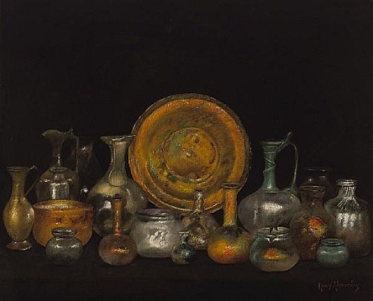 Still Life With Phoenician Glass