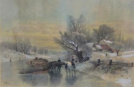 The Nearest Way In Wintertime