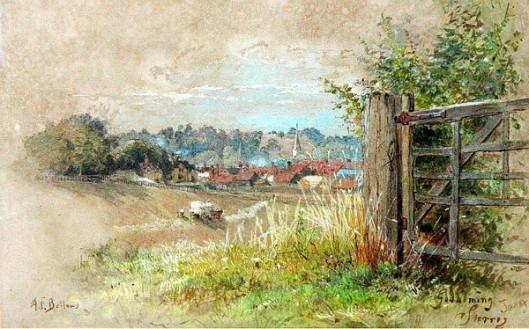 View Of Godalming, Surrey