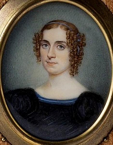 Young Woman With Blond Ringlets
