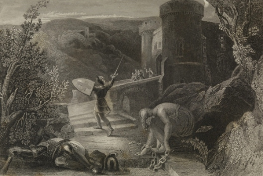 Destruction Of Doubting Castle (after Harden Melville)