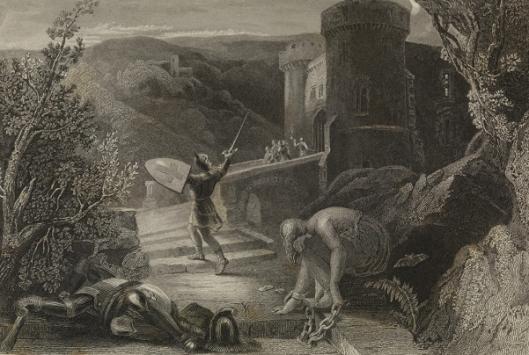 Destruction Of Doubting Castle (after Harden Melville)