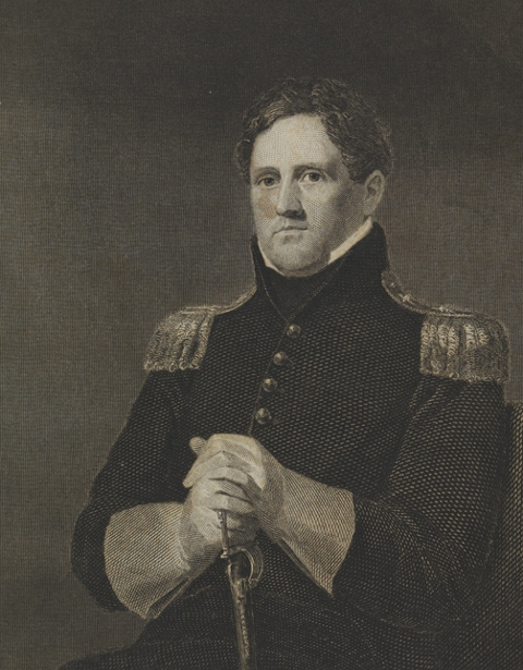 Major General Winfred Scott (after Charles Cromwell Ingham)