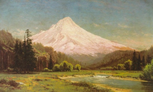 Mount Hood, Oregon, From White River Canyon