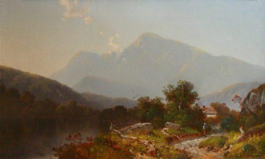 Mount Moriah And The Androscoggin River