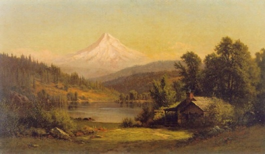 Mt. Hood, Columbia River