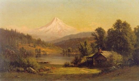 Mt. Hood, Columbia River