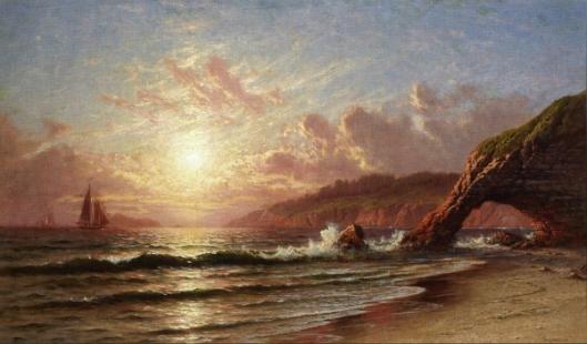 Sunset - Sunset Along The Mendocino Coast
