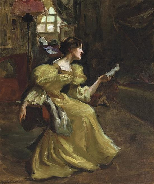 The Artist's Wife, Louise
