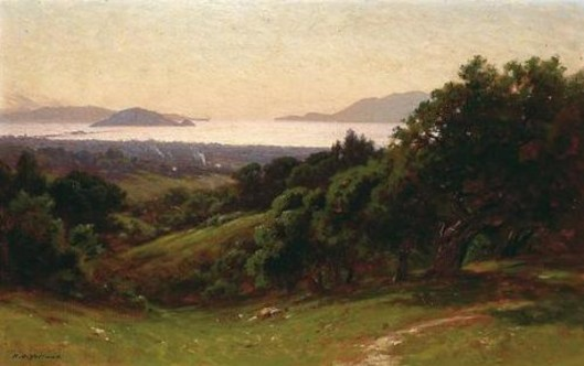 The Golden Gate From The Piedmont Hills