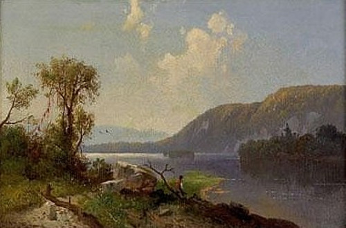 View On The Susquehanna River