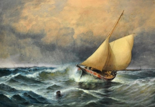 A Stormy Sail