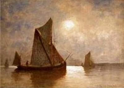 A Thames Barge