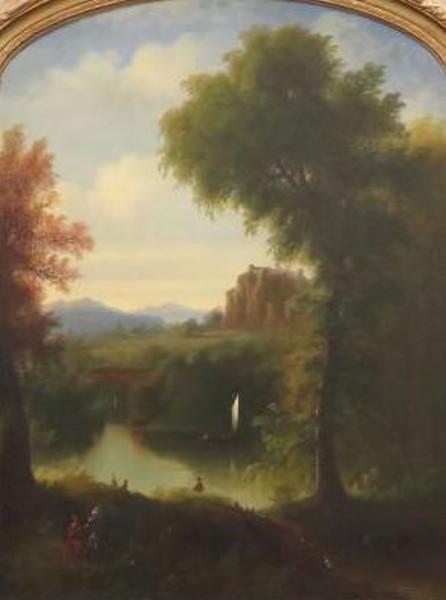 Allegorical Pastoral Landscape