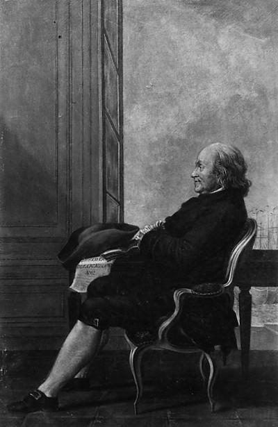 Benjamin Franklin (after Louis de Carmontelle)