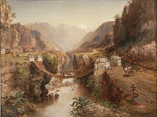 Bridge Across A Ravine
