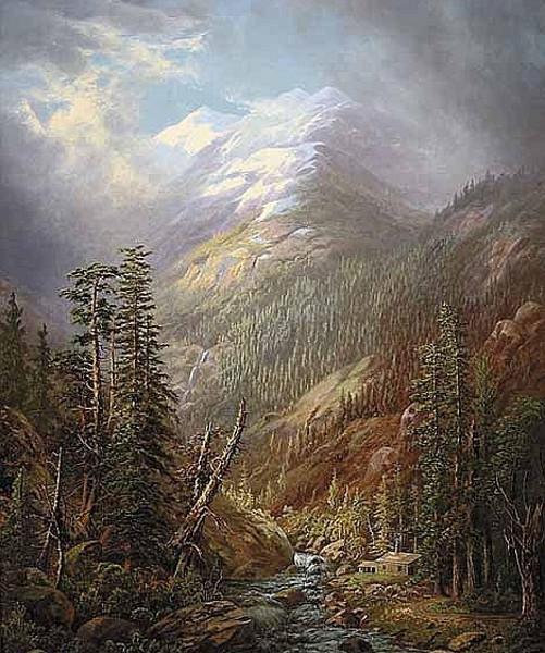 Cabin In The High Sierras