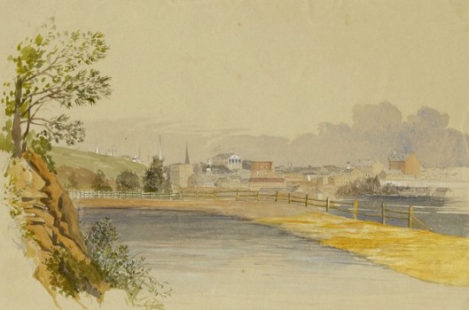 City Of Richmond, Looking East From The Canal