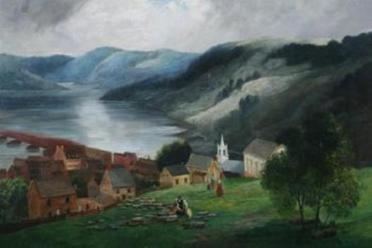 Harper's Ferry On The Potomac River
