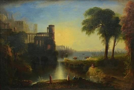 Idyllic Italian Landscape