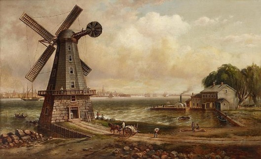 Isaac Edge's Windmill, Jersey City