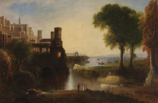 Landscape With View Of Harbor